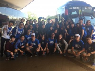 9º ano do Fundamental faz viagem de formatura