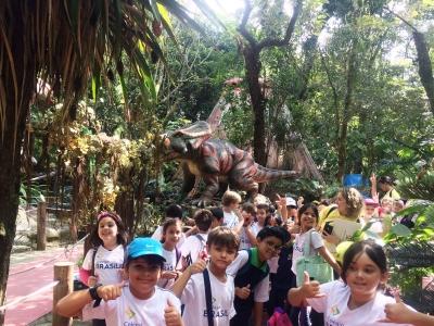 Visita ao Zoológico foi cheia de novas descobertas