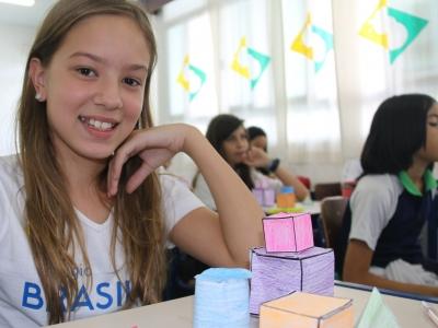 6º ano estuda formas geométricas em 3D