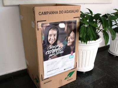 Brasilis recebe doações da Campanha do Agasalho