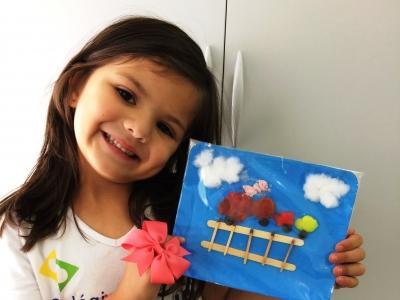 Crianças fazem releitura de obra de Ruth Rocha