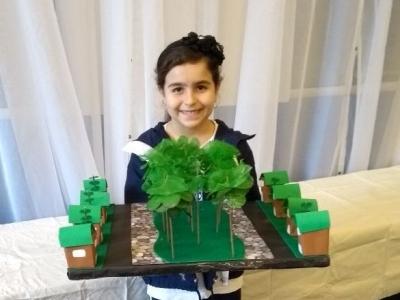 Crianças aprendem a combater problemas ambientais
