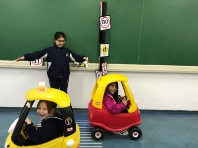 Aula lúdica aborda a Educação para o Trânsito