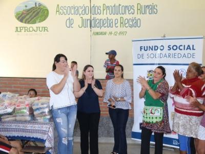 Solidariedade! Brasilis doa leite ao Fundo Social