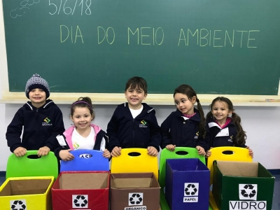 Semana do Meio Ambiente: alunos realizam atividades de conscientização