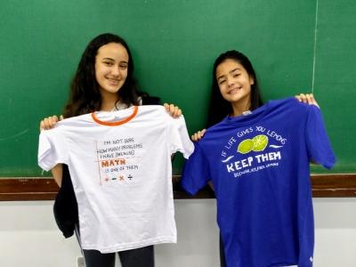 Atividade de Inglês Avançado: reprodução de camisetas