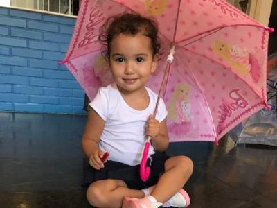 Crianças aprendem sobre a importância das chuvas