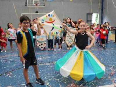 Carnaval com muita alegria no Brasilis