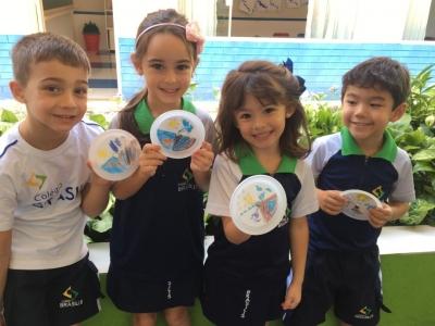 Alunos fazem atividades para lembrar o Dia Mundial da Água