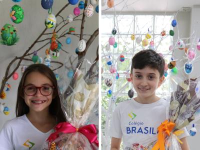 Vencedores do concurso de pêssankas 2019