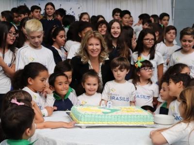Colégio Brasilis comemora 46 anos