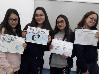 Projeto interdisciplinar une Inglês e Português