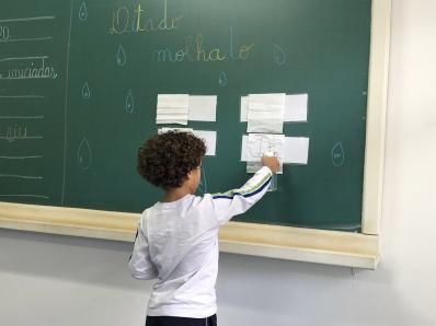 ALFABETO DIVERTIDO: DITADO MOLHADO