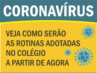 SUSPENSÃO DE ATIVIDADES - COVID -19 (NOVO CORONAVÍRUS)